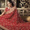 Stylish-Bridal-Saree-designs-11