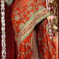 Stylish-Bridal-Saree-designs-13