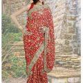 Stylish-Bridal-Saree-designs-19