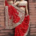 Stylish-Bridal-Saree-designs-2