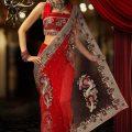 Stylish-Bridal-Saree-designs-3