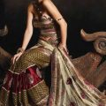 Stylish-Bridal-Saree-designs-4