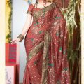 Stylish-Bridal-Saree-designs-7
