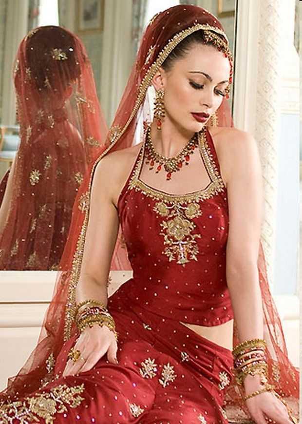 Indian Wedding Dressing Styles - Indian Bridal Lenghas, Bridal ...