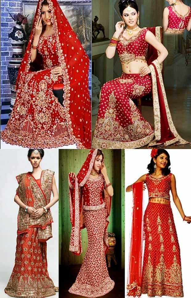 The Wedding Dresses Worn By Indians Are Very Different From The Western Style Of Wedding