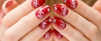 Nail-Art designs with -Rhinestones-7
