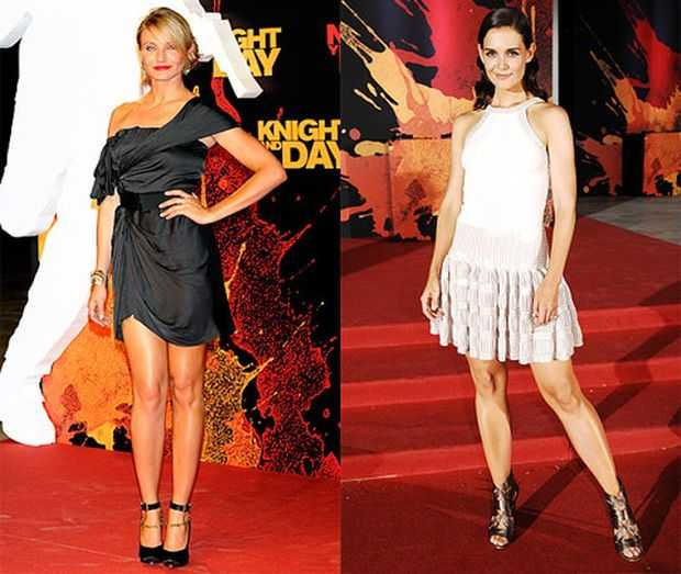 Who Wore It Better - Cameron Diaz or Katie Holmes