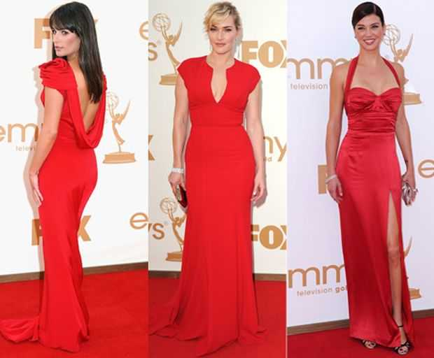 Who Wore It Better - Lea Michele or  Kate Winslet or Adrianne Palicki