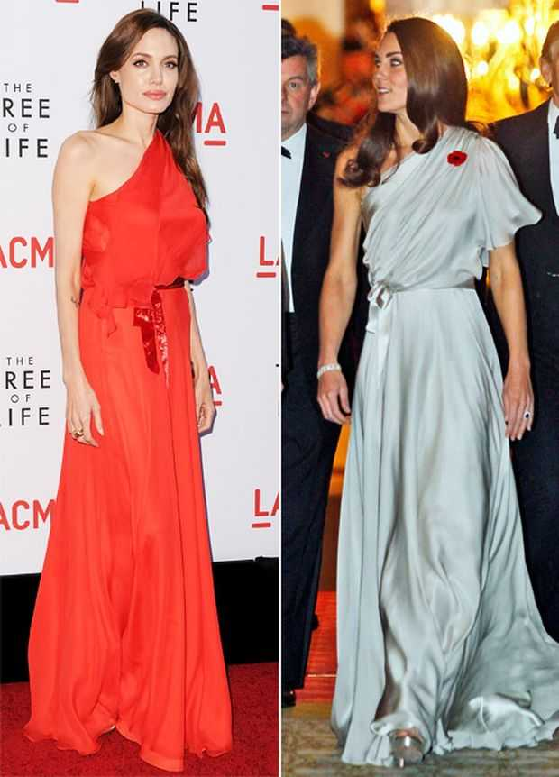 Who Wore Better - Angelina Jolie or Kate
