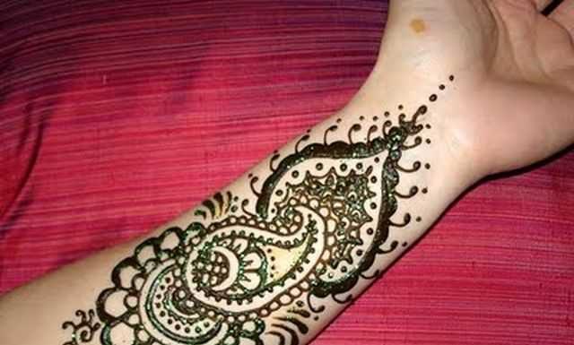 Arabic Mehndi Designs For Hands For Beginners-1