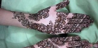 Arabic Mehndi Designs For Hands For Beginners
