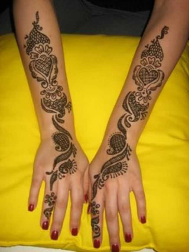 Arabic Hand Mehndi Designs For Beginners Arabic Hand Henna Designs
