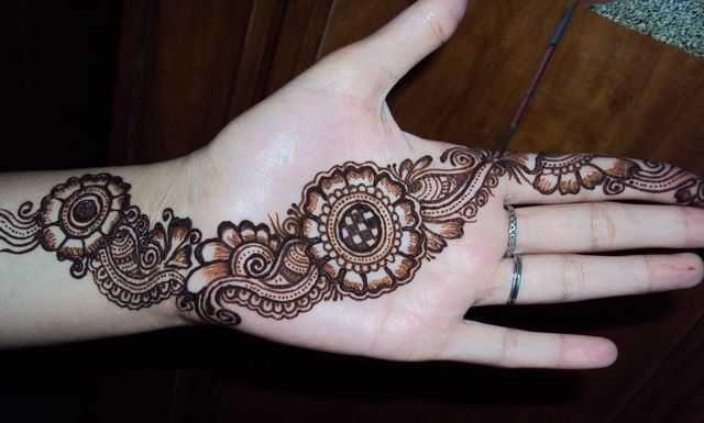 Arabic Mehndi Designs For Hands For Beginners-16