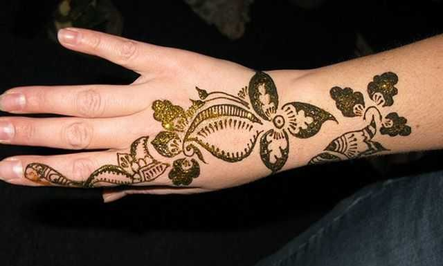 Mehndi Designs Hands Arabic Latest : Arabic hand mehndi designs for beginners henna