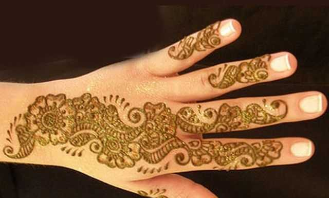 Mehndi Designs High Quality : Arabic hand mehndi designs for beginners