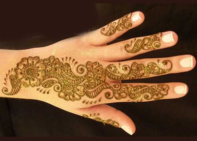 Mehndi Designs Please : Arabic hand mehndi designs for beginners henna