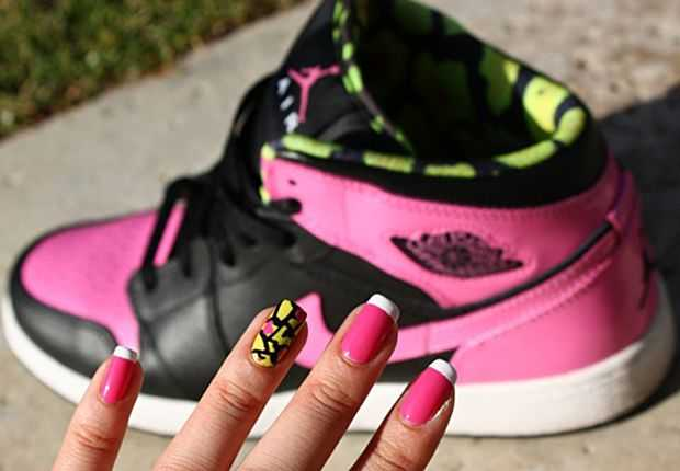 Adidas Gel Nail Art 1