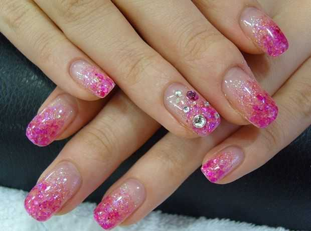 Glitter nail art design glitter nails nail art with glitter glitter nail art design ideas prinsesfo Images