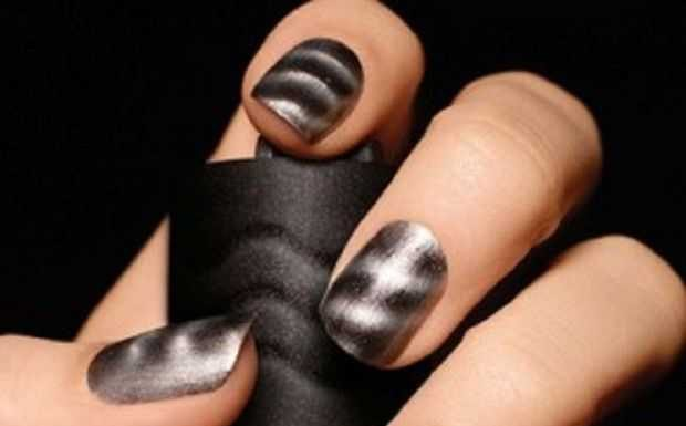 Magnetic Nail Art Magnetic Nail Design Trends 2012 Magnetic Nails