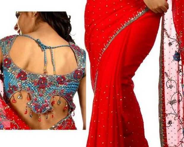 Blouse designs, blouse patterns, blouse neck and back designs for 2012