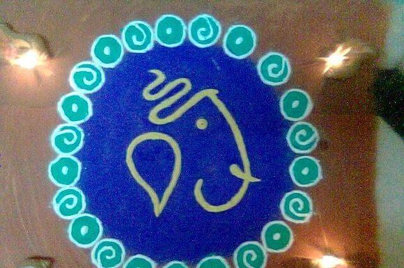rangoli- designs -for -ganpati-2