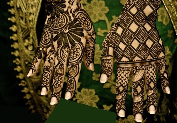 Arabic Mehndi Designs For Hand : Arabic bridal mehndi designs for full hands henna