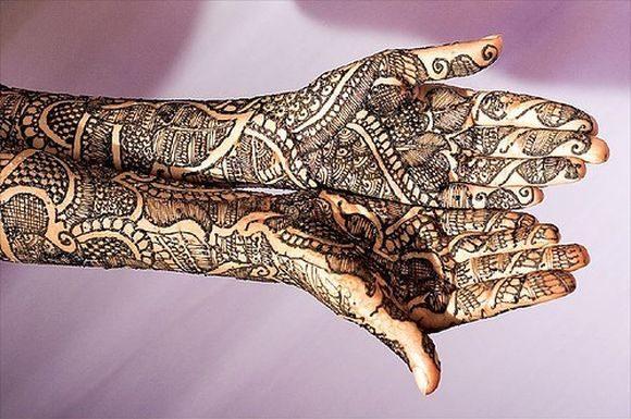 Arabic Bridal Mehndi Designs For Full Hands Arabic Bridal Henna Designs Simple bridal mehndi design tutorial: stylish and trendy