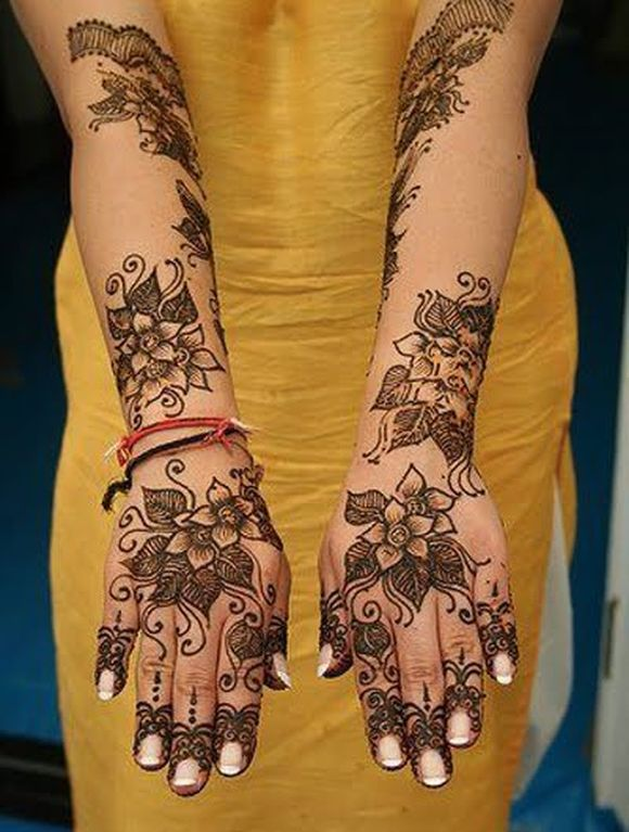 Mehndi Designs Jans : Arabic bridal mehndi designs for full hands
