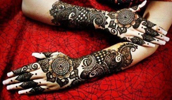 Mehndi Full Hand Bridal Design : Arabic bridal mehndi designs for full hands henna