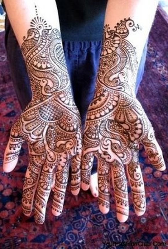 2012 Karva Chauth Mehndi Designs for hands