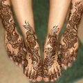 Karva Chauth Feet Mehndi Designs for 2012