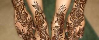 Karva Chauth Feet Mehndi Designs for 2012
