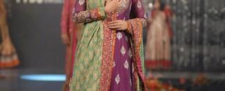 Pakistani bridal dress trends of 2012