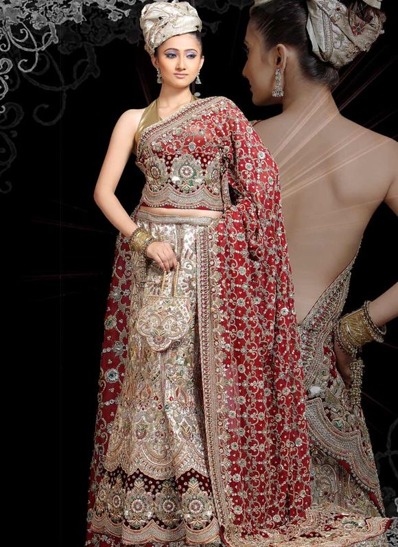 Latest Indian Bridal Wear Trends of 2012 - 2013 - Bridal Wear