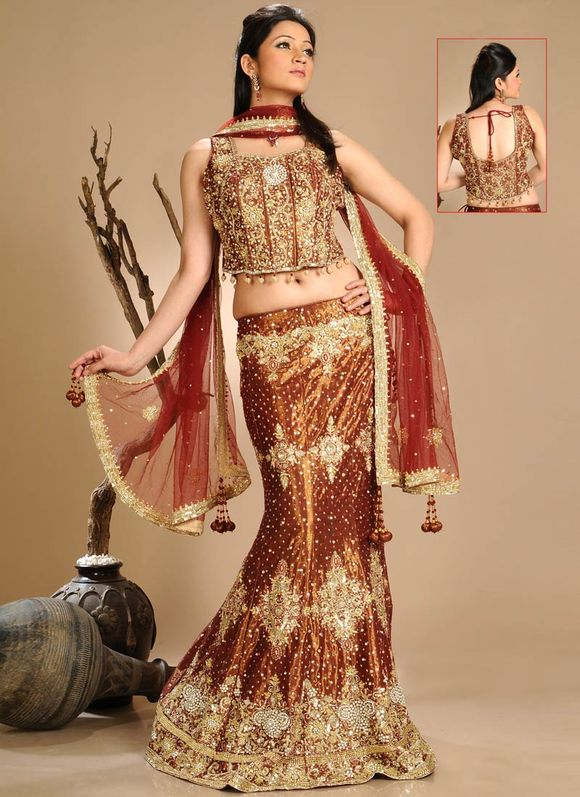 Latest indian Bridal Wear Trends of 2012