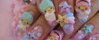 Harajuku Nail art design