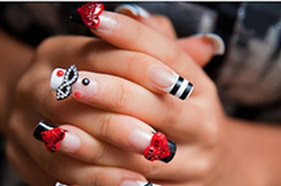 Kawaii Nail art designs, Kawaii Nail art design ideas