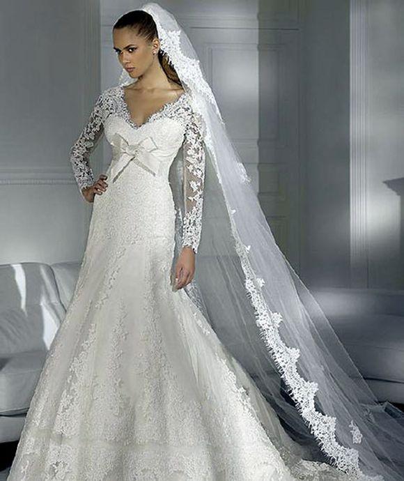 Latest Wedding Gowns Photos: Winter Wedding Dress Trends, Wedding Gown Trends Of Winter
