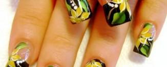 Flower nail Art video tutorial