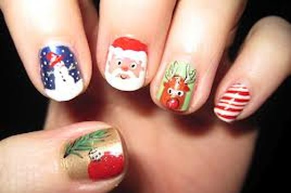 santa-clause-christmass-nail-nart-2