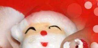 Santa Claus Nail Art Design Ideas For Christmas - Christmas Nail Art