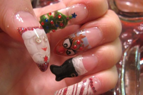 santa-clause-christmass-nail-nart-4