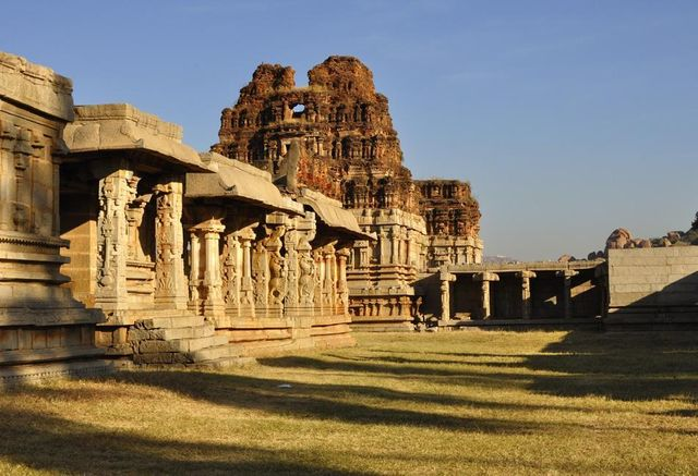 Achyuta rayas temple in hampi karnataka