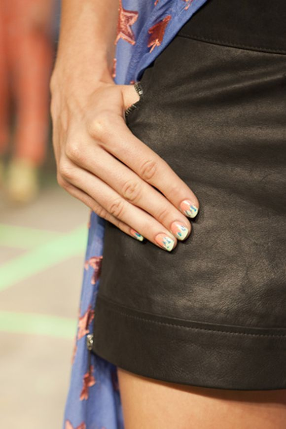 Fashion Nail Trend: Stylish Nail Art Ideas From Fashion Week