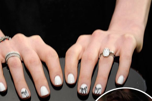 Celebrity nail trends 2016 - YouTube
