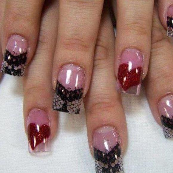 Valentine nail art trends 2013 valentine nail art design ideas 2014 valentine nail art trends prinsesfo Choice Image