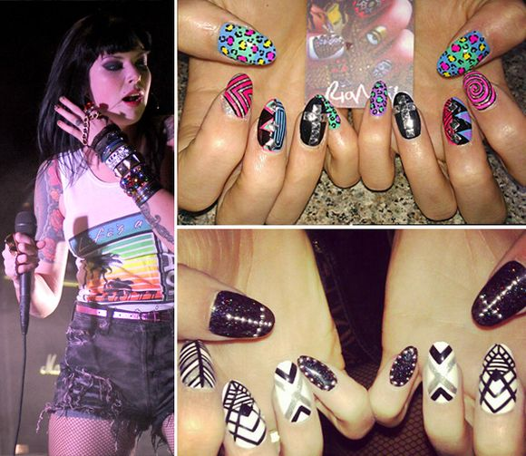 Alexis-Krauss-celebrity-nail-art-trends