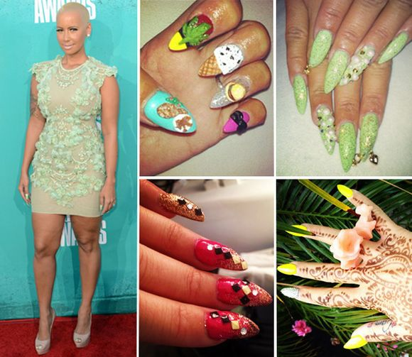 Top 15 Celebrity Nail Art Trends Of 2013 Best Celebrity Nail Arts