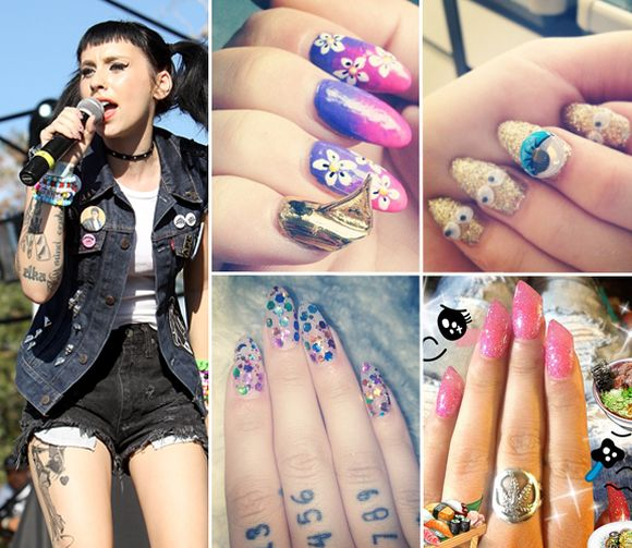 Keayshawn-celebrity-nail-art-trends