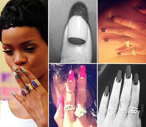Celebrity Nail Artist: Top 15 Celebrity Nail Art Trends Of 2013